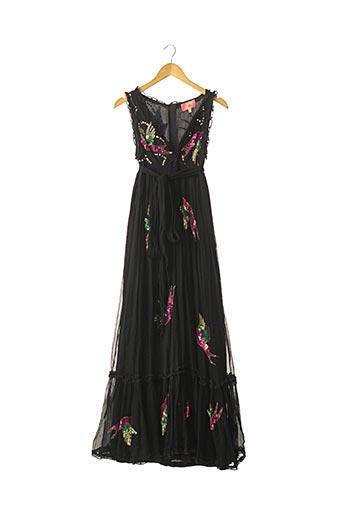 Robe longue noir MANOUSH pour femme