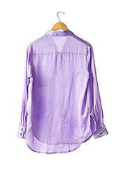 Chemisier manches longues violet NASTY GAL pour femme seconde vue