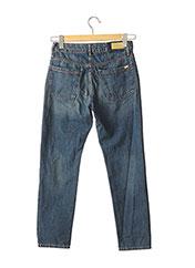 Jeans coupe droite bleu REIKO pour femme seconde vue