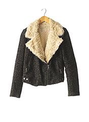 Manteau court noir ZARA pour femme seconde vue