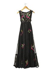 Robe longue noir MANOUSH pour femme seconde vue