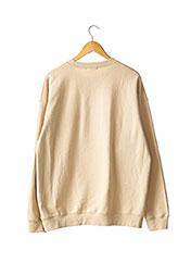 Sweat-shirt beige BOOHOO pour femme seconde vue