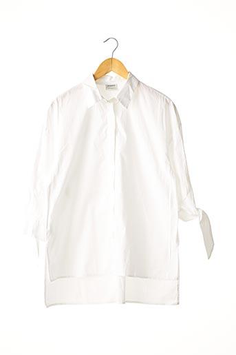 Chemisier manches longues blanc PINKO pour femme