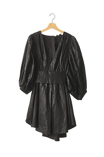 Robe courte noir MSGM pour femme