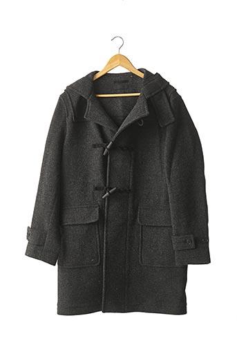 Manteau long gris UNIQLO pour homme