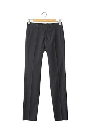 Pantalon chic bleu IKKS pour homme