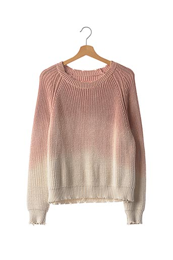 Pull col rond rose ZADIG & VOLTAIRE pour femme