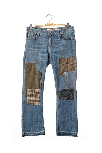 Jeans boyfriend bleu OTTOD'AME pour femme