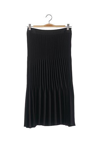 Jupe mi-longue noir HUGO BOSS pour femme