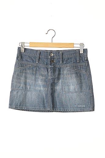 Mini-jupe bleu CLOSED pour femme