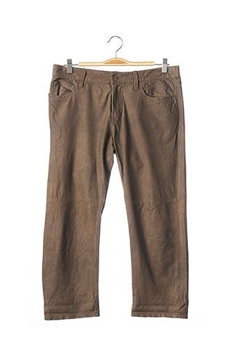 Pantalon 7/8 marron CURRENTE/ELLIOTT pour femme