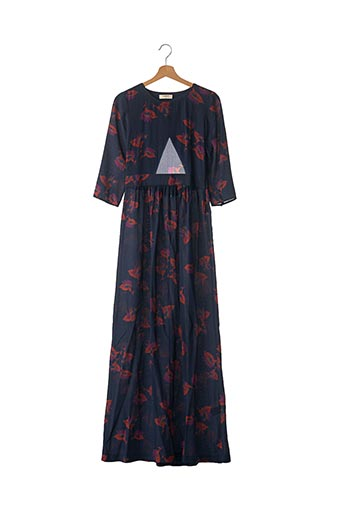 Robe longue bleu BA&SH pour femme