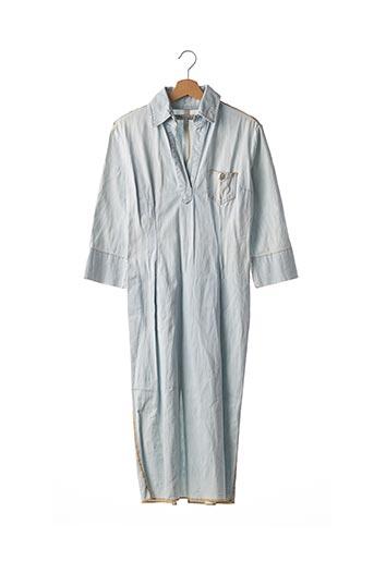 Robe longue bleu FORNARINA pour femme