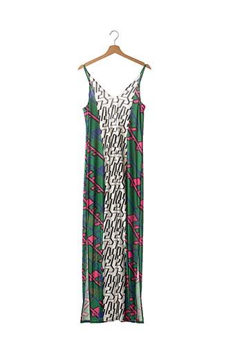 Robe longue vert IMPERIAL pour femme