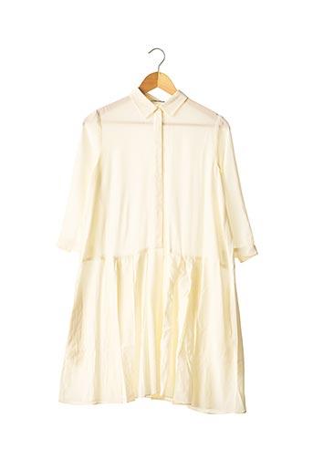 Robe mi-longue beige CACHAREL pour femme