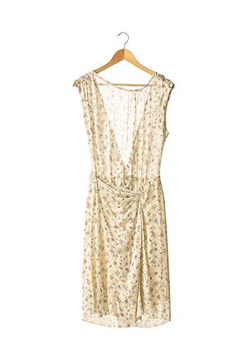 Robe mi-longue beige ISABEL MARANT pour femme