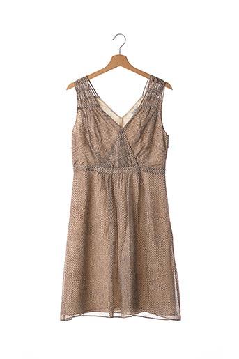 Robe mi-longue marron ZAPA pour femme