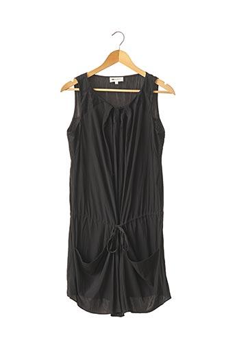 Robe mi-longue noir VANESSA BRUNO pour femme