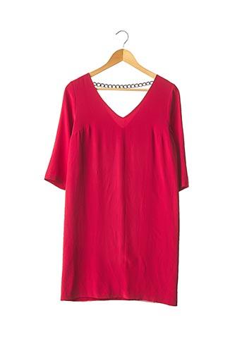 Robe mi-longue rouge BEL AIR pour femme
