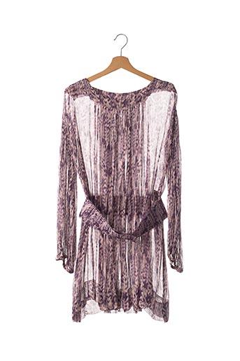 Robe mi-longue violet ISABEL MARANT pour femme