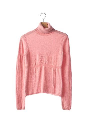 T-shirt long rose PAULE KA pour femme