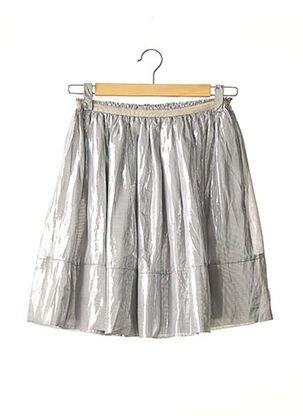 Jupe mi-longue gris BY MALENE BIRGER pour femme