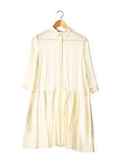 Robe mi-longue beige CACHAREL pour femme seconde vue