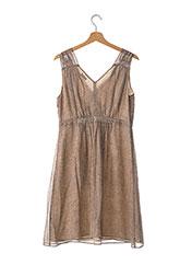 Robe mi-longue marron ZAPA pour femme seconde vue