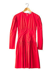 Robe mi-longue rouge SONIA RYKIEL pour femme seconde vue