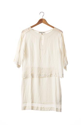 Robe mi-longue beige VALENTINE GAUTHIER pour femme