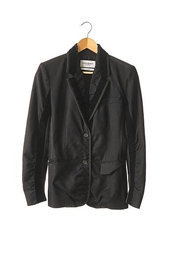 Veste chic / Blazer noir YVES SAINT LAURENT pour femme