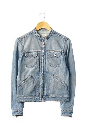 Veste en jean bleu CALVIN KLEIN pour femme