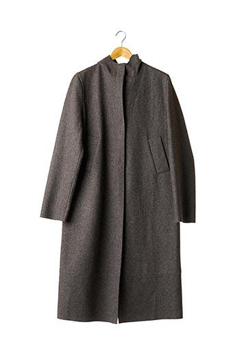 Manteau long gris COSTUME NATIONAL pour femme