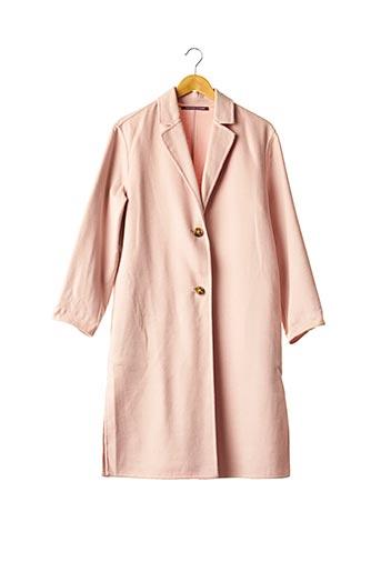 Manteau long rose COMPTOIR DES COTONNIERS pour femme