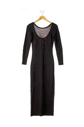 Robe longue noir CLAUDIE PIERLOT pour femme