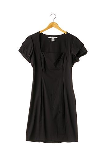 Robe mi-longue noir DIANE VON FURSTENBERG pour femme
