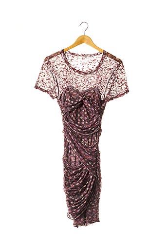 Robe mi-longue rose ISABEL MARANT pour femme