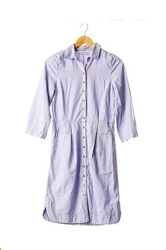 Robe mi-longue violet DESIGNERS REMIX COLLECTION pour femme