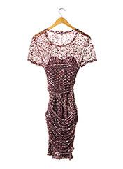 Robe mi-longue rose ISABEL MARANT pour femme seconde vue