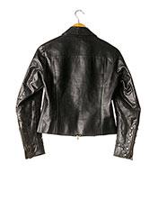 Veste en cuir noir CALVIN KLEIN pour femme seconde vue