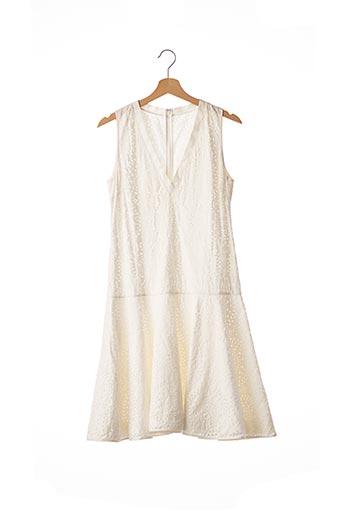 Robe mi-longue blanc VALENTINO pour femme
