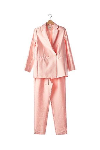 Veste/pantalon rose MAJE pour femme