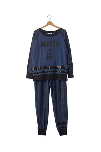 Pull/pantalon bleu TWIN-SET SIMONA BARBIERI pour femme
