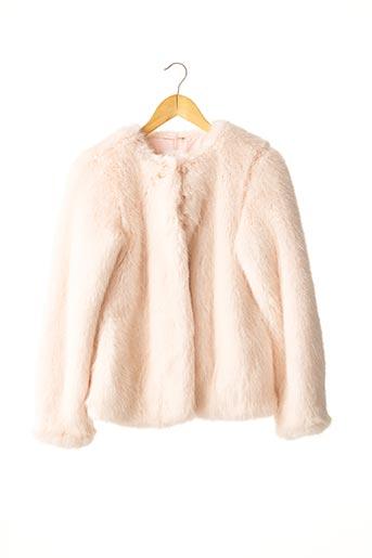 Manteau court rose BELAIR pour femme