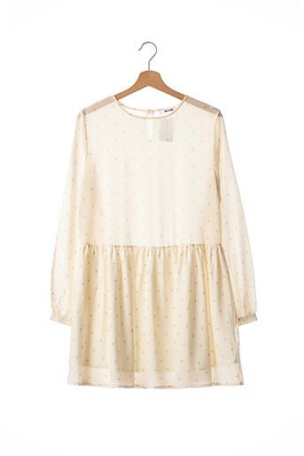 Robe courte beige ANINE BING pour femme