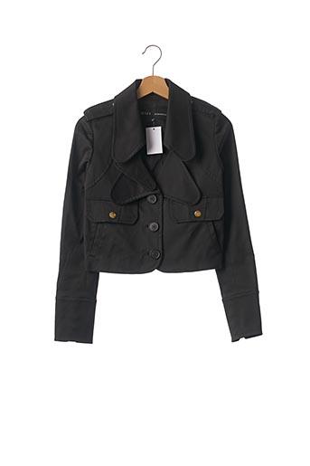 Veste chic / Blazer noir BARBARA BUCCI pour femme