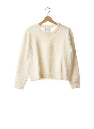 Sweat-shirt beige ESSENTIEL ANTWERP pour femme