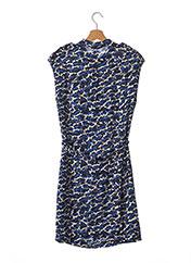 Robe mi-longue bleu MAX & MOI pour femme seconde vue