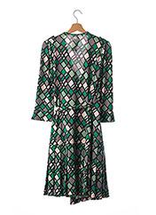 Robe mi-longue vert DIANE VON FURSTENBERG pour femme seconde vue