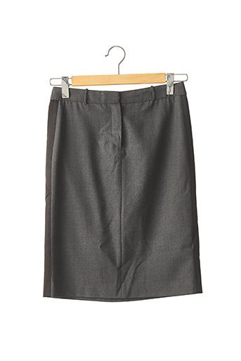 Jupe mi-longue gris CACHAREL pour femme